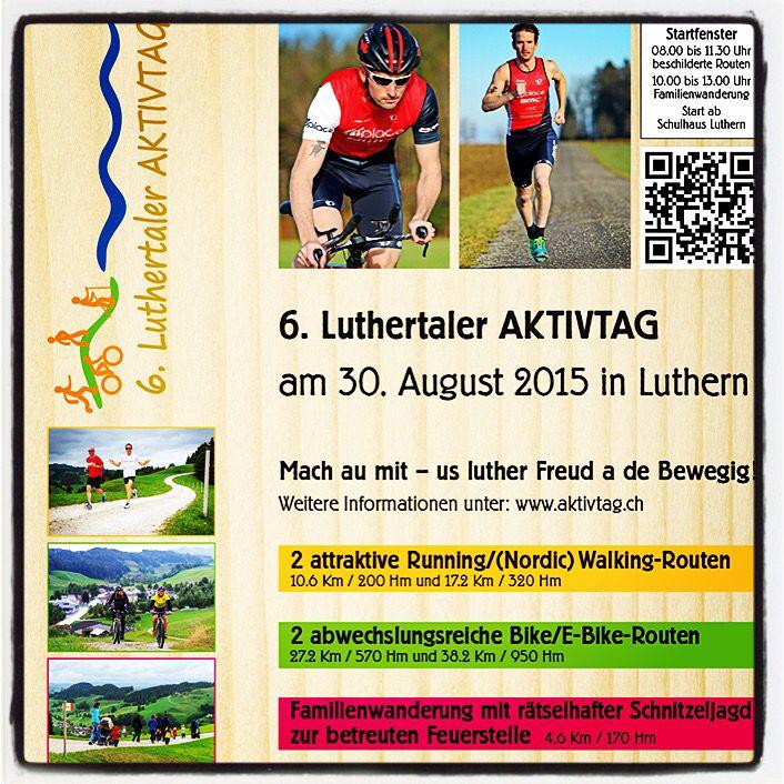 Us luther Freud a de Bewegig am 30. August #biken #joggen #walken oder #wandern im #Luthertal - jetzt online anmelden http://t.co/phCURrw5Id