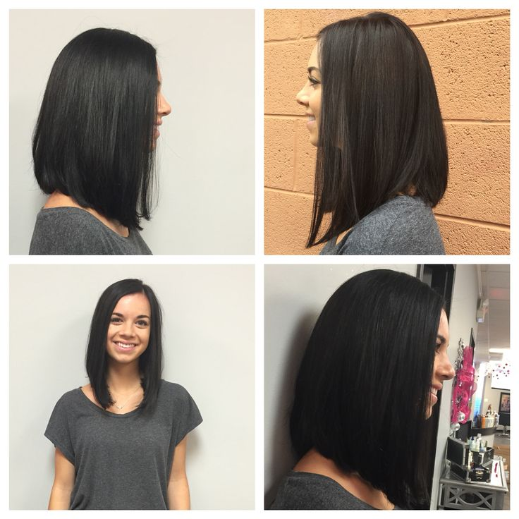 Amazing Best 25 Long Angled Bobs Ideas On Pinterest Long Angled Bob Short Hairstyles Gunalazisus