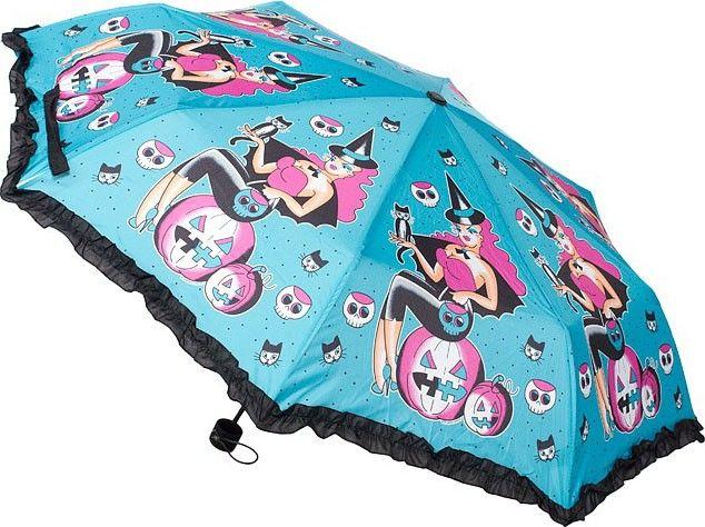 Sourpuss - Witchy Lady Umbrella - Buy Online Australia Beserk