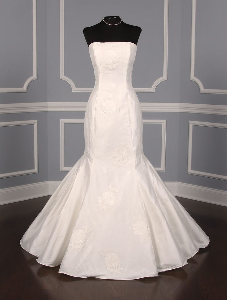 This St. Pucchi Ava wedding dress is Brand New and has its hang tag attached! Try on this gown with our no risk return policy! #weddingdress