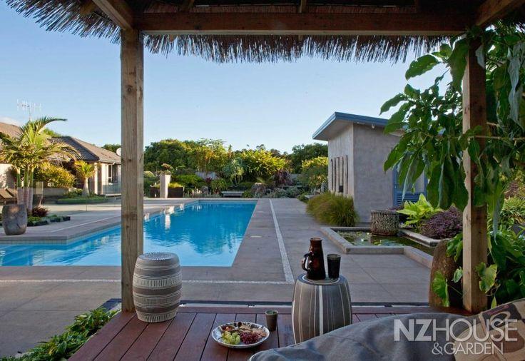 A resort-like home.