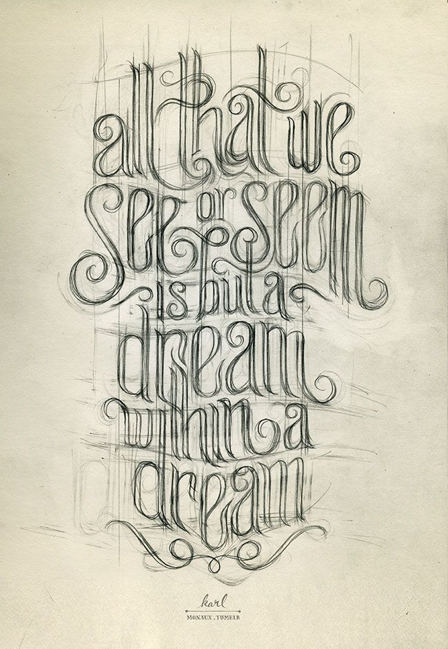 #typography #type #lettering