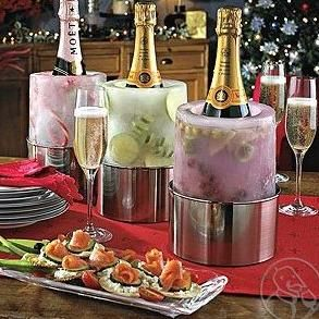 Champagne and Wine Ice Mold: