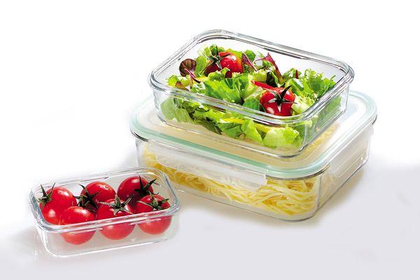 Eine tolle Alternative zu Plastikdosen - Frischhaltedosen aus Hartglas