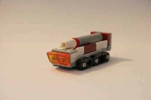 Imperial 'Doombringer' #lego #rocket #tank