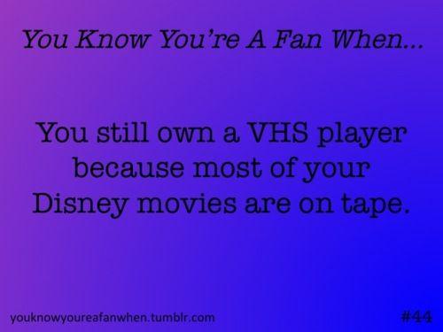 VHS - aka going old school on my Disney marathons: Old School, Disney Marathon