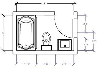 Exceptional Small Bathroom Floor Plans.
