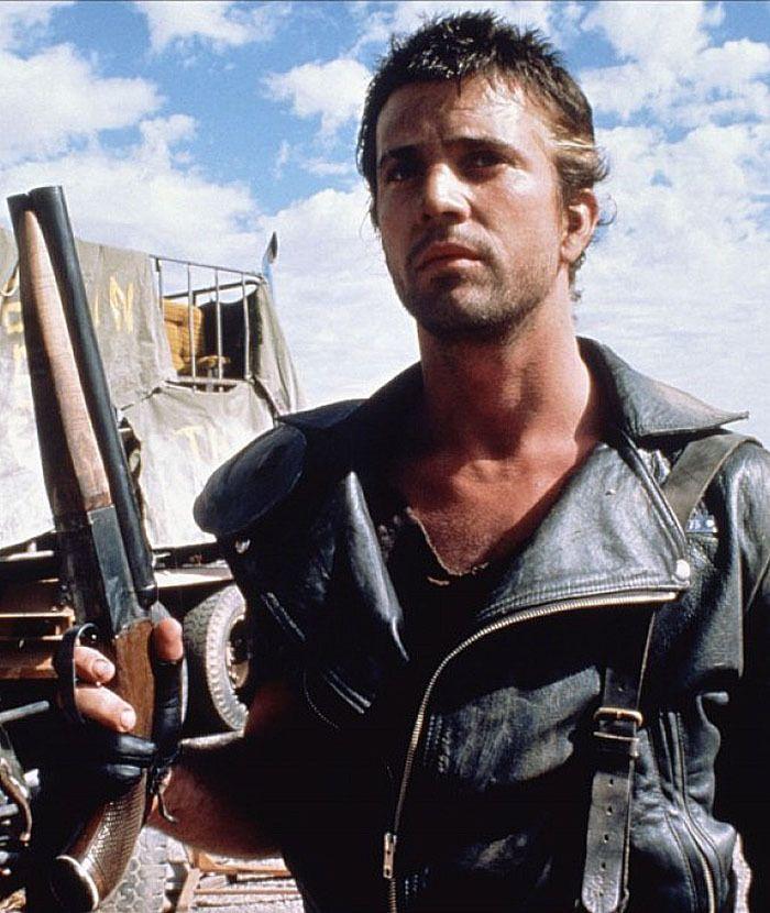 """Mel Gibson en """"Mad Max 2: El Guerrero de la Carretera"""" (Mad Max 2: The Road Warrior), 1981"""