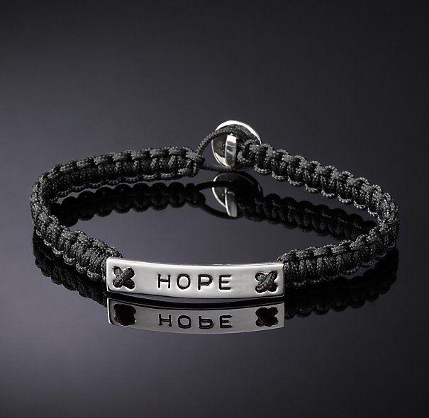 Hope Corded Bracelet