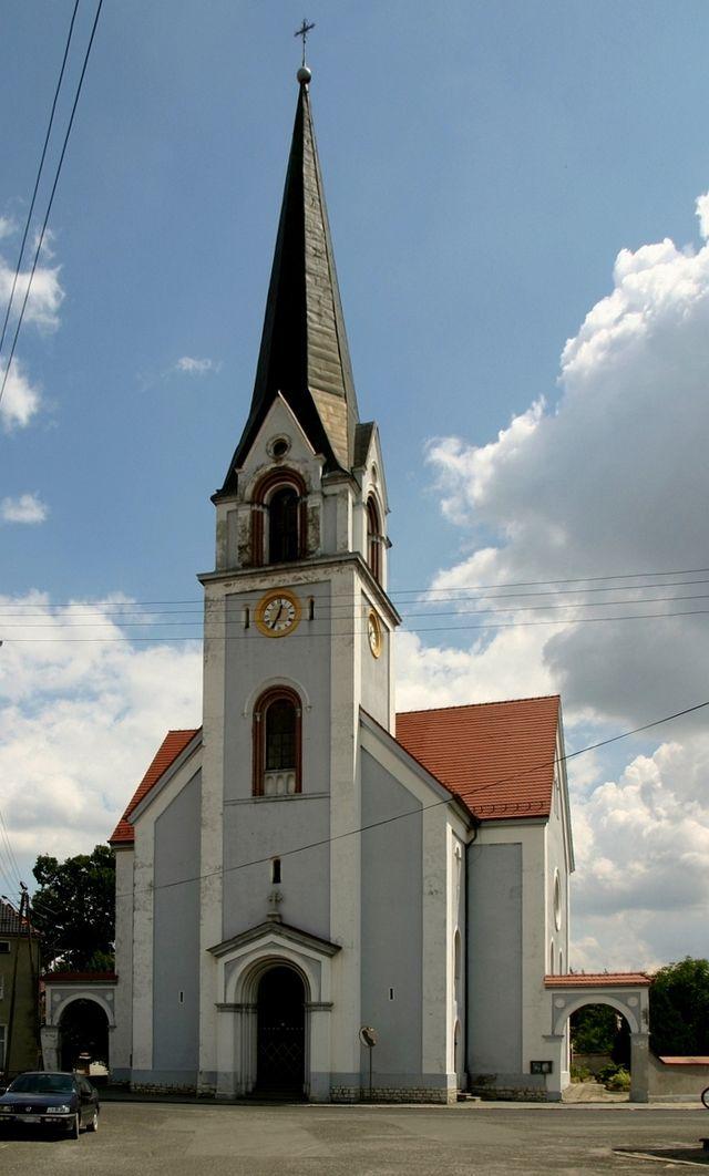 Grabina - Kościół  pw. Nawiedzenia NMP