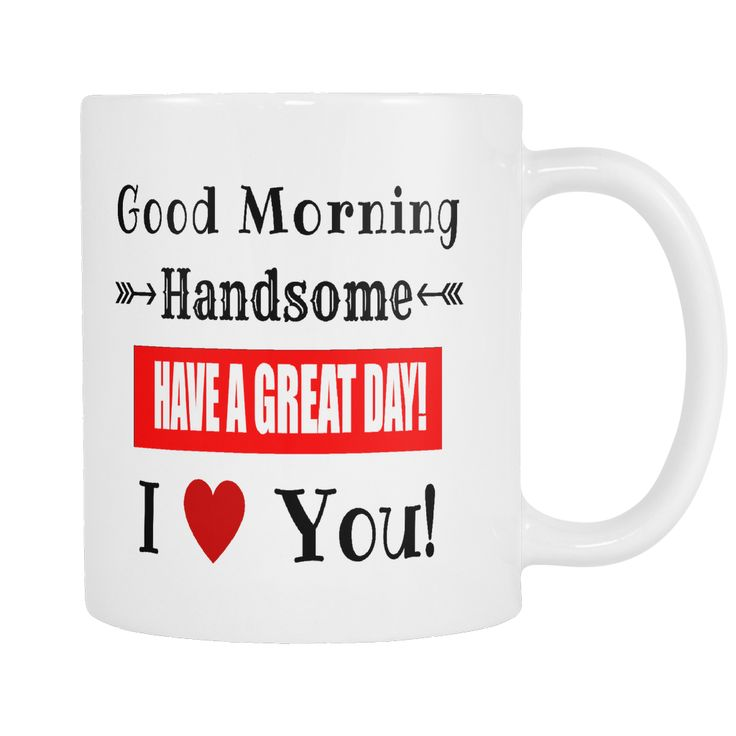 """- Description - Details If you want to make your Husband feel really appreciated, you can do it with a gift that reminds him of the depth of your love, every single morning. Click the """"Add To Cart"""" Bu"""