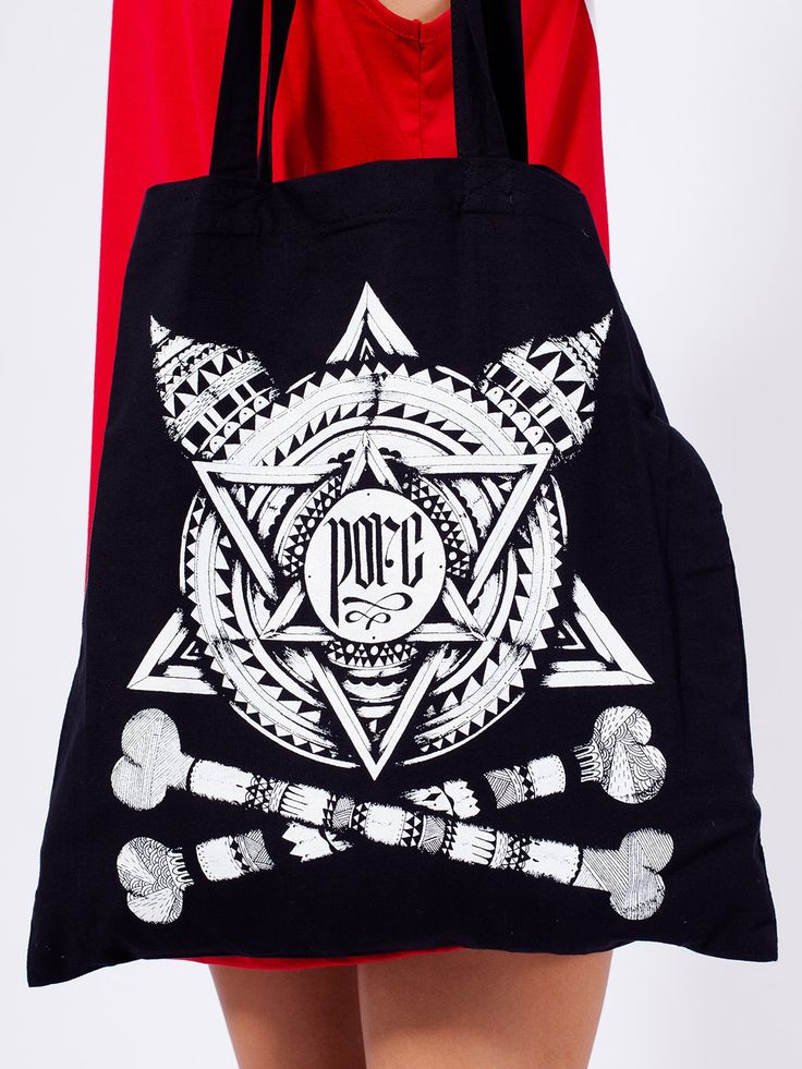 "PREN X PORC – ""Ghetto"" Ltd. Tote Bag"