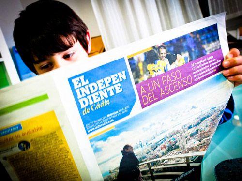 Cádiz tiene un nuevo diario en papel, independiente (como su nombre) y muy moderno | 233grados.com