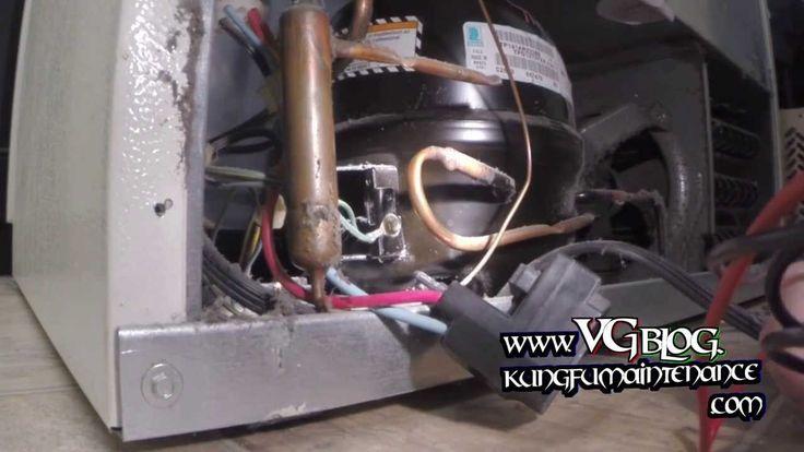 Refrigerator Compressor Buzzing Won't Start Fridge Freezer Stopped Cooling Repair Video