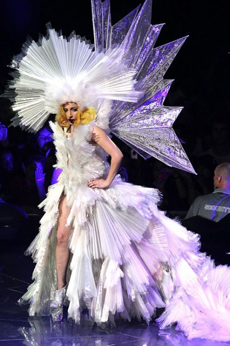 crystal dress with wings. super massive