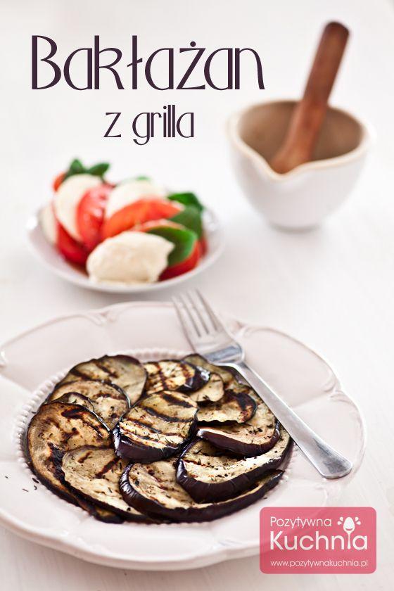 #Baklazan z grilla, pachnący czosnkiem.  http://pozytywnakuchnia.pl/baklazan-z-grilla/  #przepis #kuchnia #grill