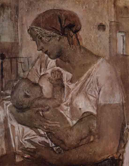 """Моисеенко Е. """"Материнство"""", 1978 Moiseenko E. Motherhood. 1978"""