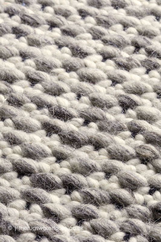 NEW IN: Solid Grey Rug (texture Close Up), A Modern Light Grey