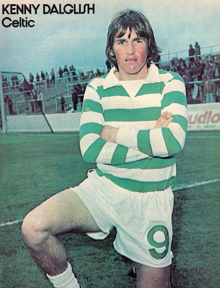 "Circa 1971/72. Glasgow Celtic striker Kenny Dalglish. ""Can you give us a smile Kenny?"" Kenny ""I am"""