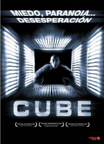 Cube (1997) Canadá. Dir.: Vincenzo Natali. Ciencia Ficción/Fantástico. Películas de culto. Suspense/Thriller. Terror - DVD CINE 1951