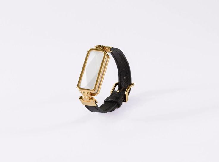 VINAYA ALTRIUS Cleopatra Bracelet Gold & White