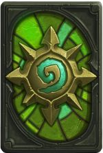 Hearthstone Heroes of Warcraft Black Temple Card Back