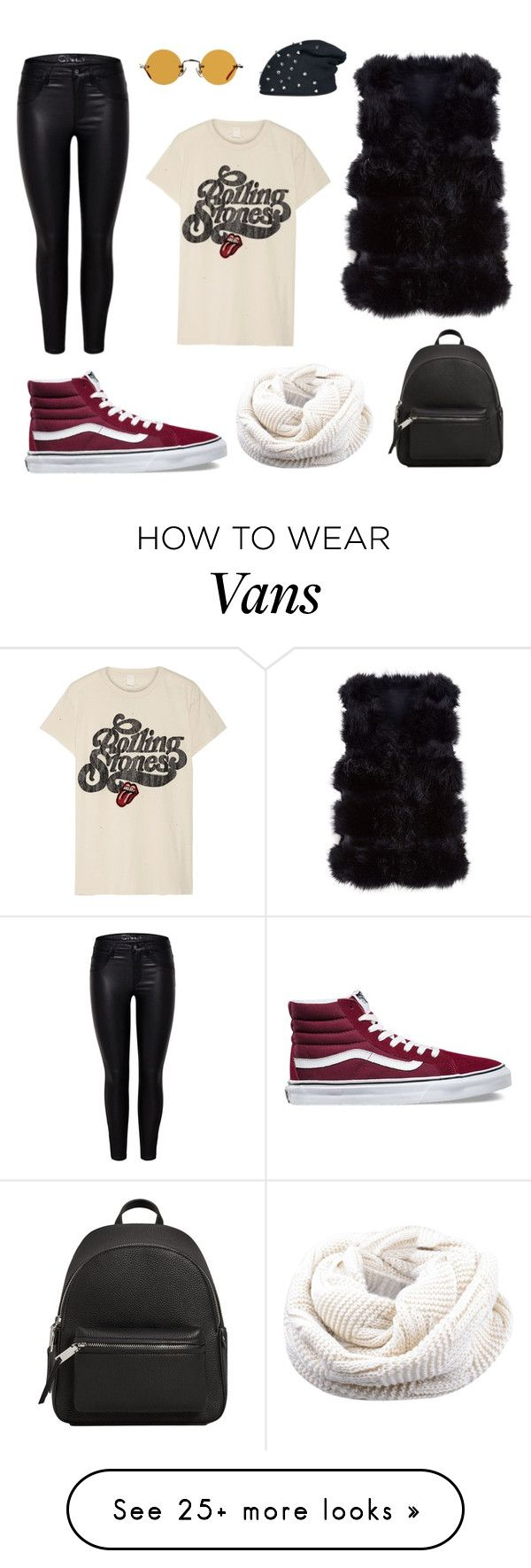 """""""I'm with the band"""" by thedaylee on Polyvore featuring Vans, MadeWorn, Hakusan and MANGO"""