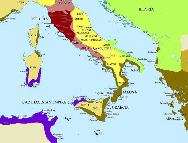Magna Grecia  es el nombre dado en la antigüedad al territorio ocupado por los colonos griegos en el sur de la península italiana y en Sicilia, donde fundaron numerosas polis que comerciaron con su metrópoli.