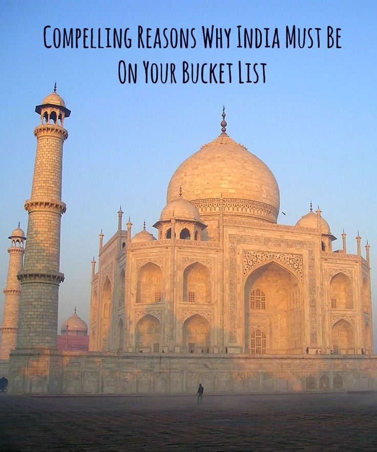 Most people traveling the world have a tendency to forget about India. But the truth is that it is an amazing – and huge – country with so much on offer it would take you years to see it all.