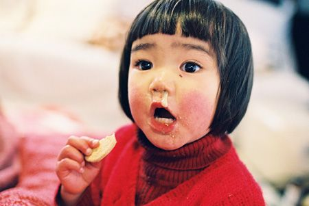 ahaha, so cute!  Miraichan-Kotori Kawashima