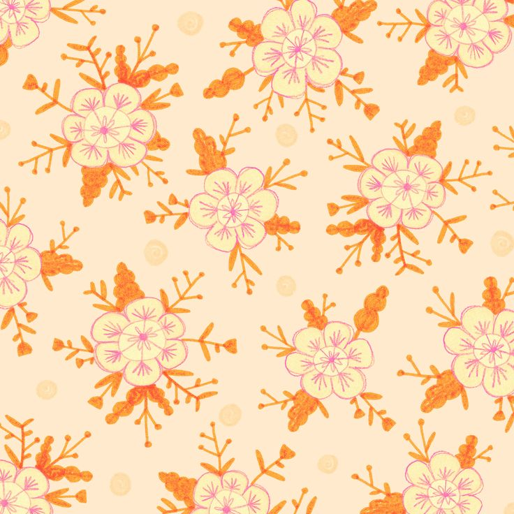 Floral pattern by Laurence Lavallée aka Flo