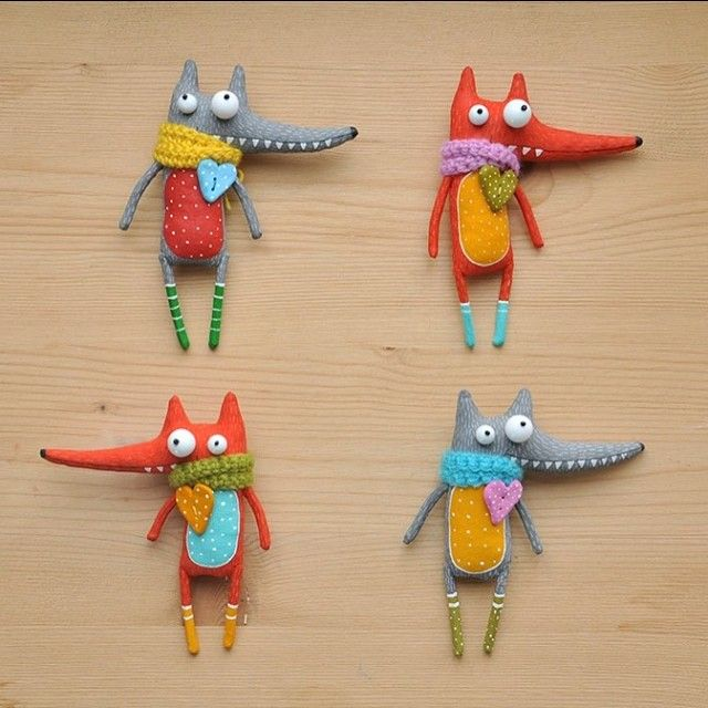 Marlitoys Foxes