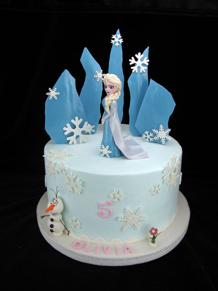 This is a 10 inch Vanilla Sponge cake with buttercream filling and covered in buttercream. The decorations are all made from fondant.