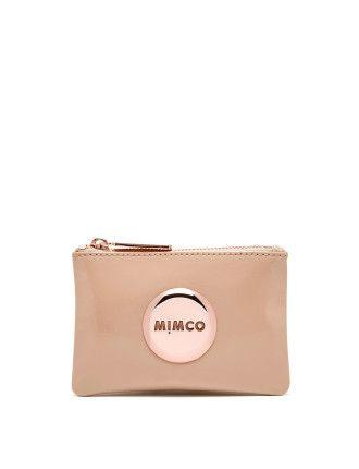 Mimco Mim Pouch - Nude $69.95AUD from David Jones