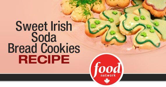 Sweet Irish Soda Bread Cookies Recipe