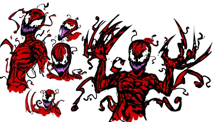 Carnage from spider-Man by CosmosJester