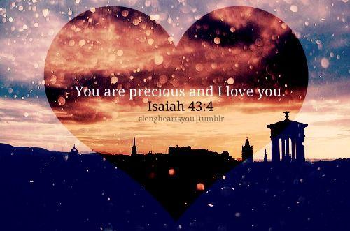 Isaiah 43:4