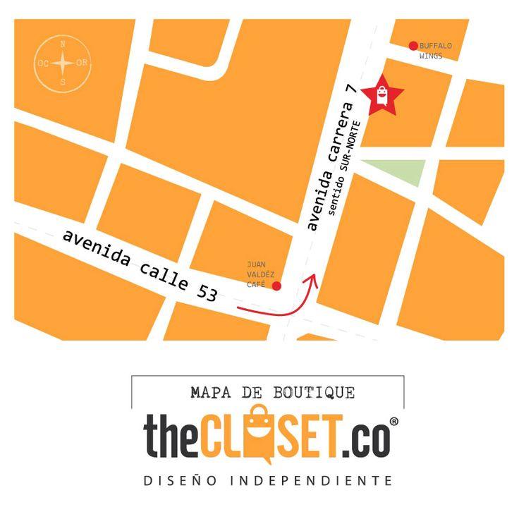 Ya fuiste a visitar nuestra boutique? Encuéntranos en la Cra. 7 # 54 a - 18 Local 3 TheCloset.co Store #RedDeDiseñadores #DiseñoIndependiente