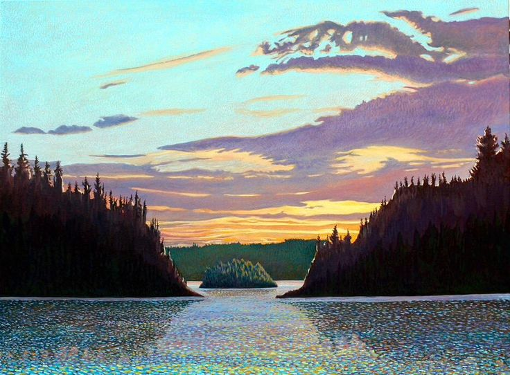 Website updated: Algonquin show Check it out http://www.johnkinsella.ca #art @BaleBook @tnkcanoe @Mark_Sanche #painting