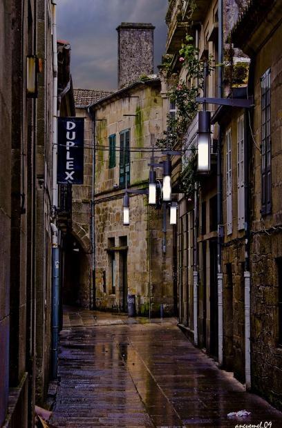 Zona vella Santiago de Compostela