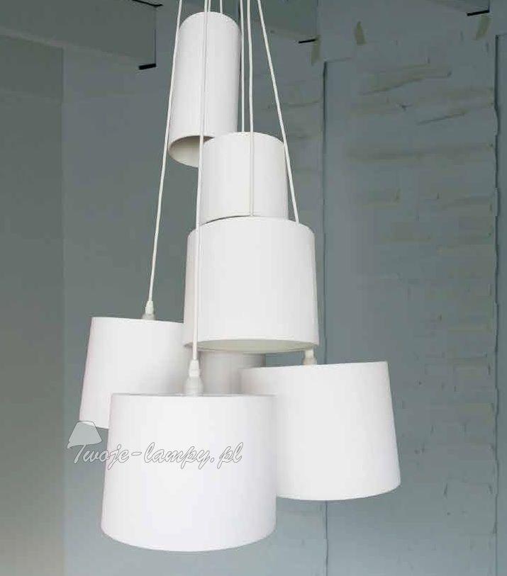 Azzardo solvig pl-14001 wh - Z abażurami - Lampy wiszące - 💡 Sklep Twoje-lampy.pl