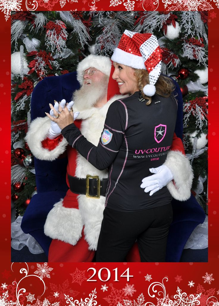 UV Couture, perfect for all occasions, even a slow dance with Santa... Find the perfect #holidaygift here: http://bit.ly/1kG4Clr FREE Shipping until the end of December.