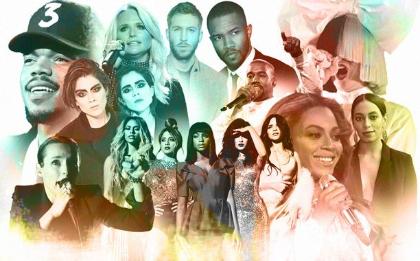 Beyoncé, Tegan and Sara, Fifth Harmony, Kanye West, and a couple tunes from Taylor Swift: EW's top tracks of the year