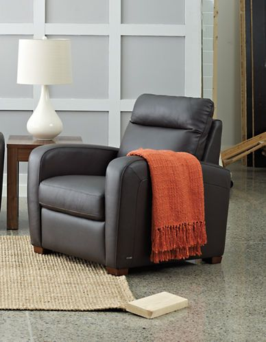 Trento Reclining Leather Armchair | Hudson's Bay