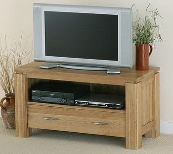 Galway Natural Solid Oak TV Cabinet