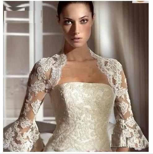 boleros | Boleros para vestidos de novia: las nuevas tendencias