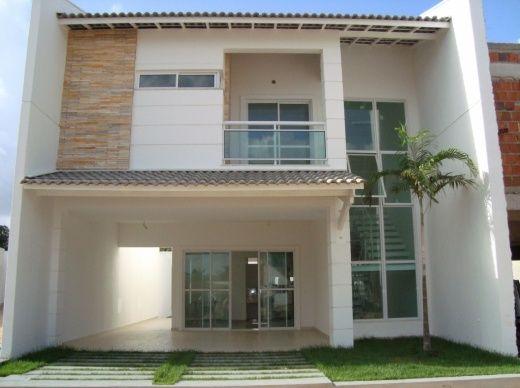 Fotos de fachadas de casas duplex simples for Fachadas de apartamentos modernas