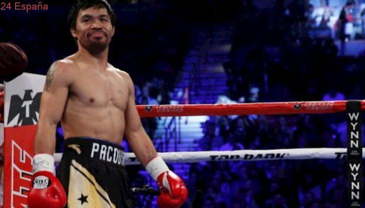 Manny Pacquiao desvela negociaciones de cara a una pelea contra McGregor