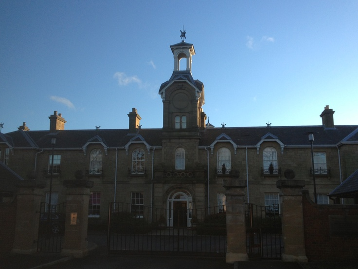 St Nicholas Hospital, Newcastle. Opened in 1869, this part of the old asylum has since been turned into a range of luxury housing renamed 'Lanesborough Court'.