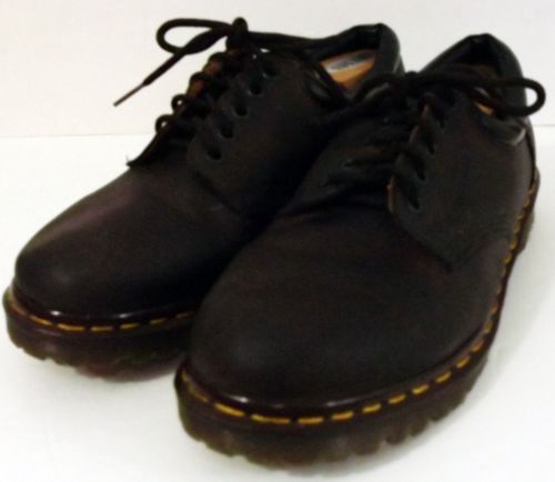 Dr Martens Brown Nappa Leather Shoes Made in England 8053 Size 10 EU 11 US